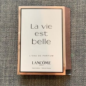 Lancôme La vie est belle Sample Fragrance New